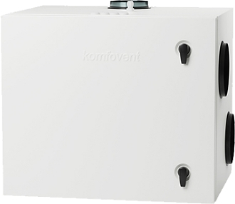 Rekuperator Komfovent Domekt R 450 V. Poprzedni model.
