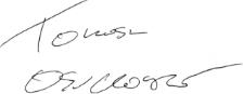 Tomasz Osuchowski podpis