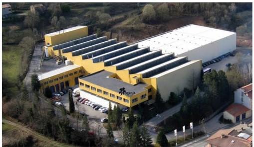 Nowa fabryka CASALS