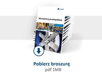 Broszura Wentylatory Przemysłowe CASALS