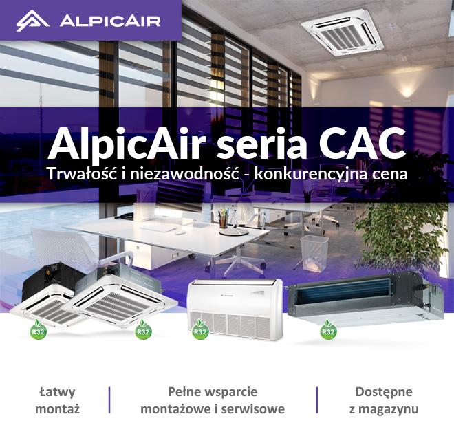 Ventia. Poznaj klimatyzatory komercyjne AlpicAir
