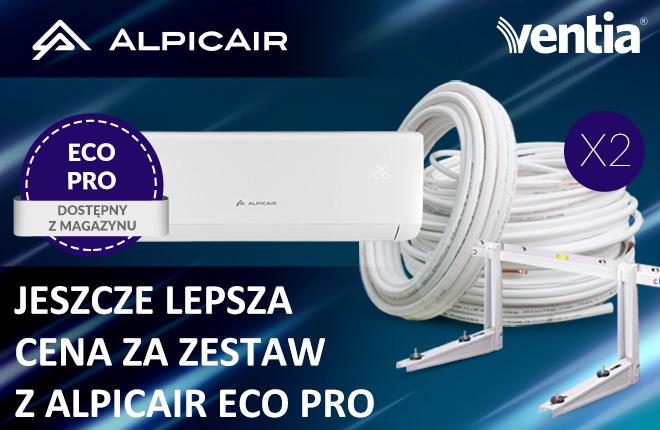 Klimatyzatory AlpicAir od VENTIA. Oferta 2020! Nowości dostępne z magazynu.